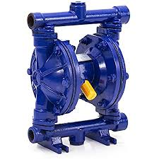 Amazon.com: Happybuy Air-Operated Double Diaphragm Pump 1 inch Inlet Outlet  Aluminum 35 GPM Max 120PSI for Chemical Industrial Use, QBY4-25L-1inch-35:  Home Improvement
