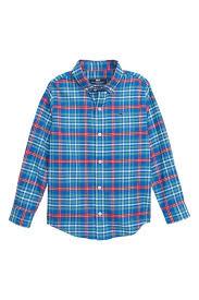 Vineyard Vines Mill River Flannel Whale Shirt Toddler Boys Little Boys Big Boys Nordstrom Rack