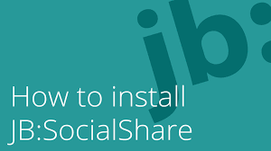 learn to build joomla websites how to install jb socialshare on joomla 3