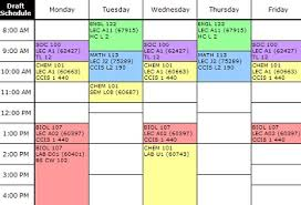 Step 2 Schedule Your Courses Faculty Of Science