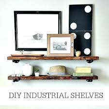 easy to install shelves large decorative easiest way to install floating shelves