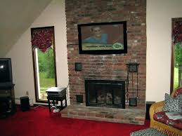 tv mount for stone fireplace fireplace install stone fireplace mount on above wood burning putting luxury