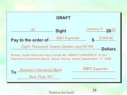 Bank Check Draft Template Writing Templates Free