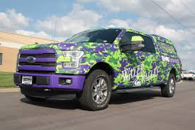 custom matte truck wrap and boat wrap graphics