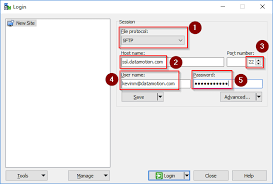 Using Winscp With Secure File Transfer Datamotion Knowledge Base