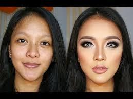 transforming contour makeup tutorial for indonesian