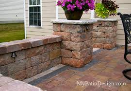 Small Picture Paver Wall Designs Enormous Patio With VERSA 21 nightvaleco