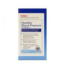 Healthy Blood Pressure Chart Gnc Preventive Nutrition Healthy Blood Pressure Formula 90 Capsules