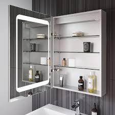 Bathroom Cabinet With Shaver Point Led Illuminated Mirror Cabinet Bathroom Shaver Socket Motion
