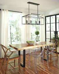chandeliers modern farmhouse dining room lighting best linear chandelier ideas on industrial pool with