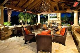 covered patio with fireplace outdoor patio cover ideas patio tropical with stone patio stone fireplace stone