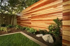 horizontal privacy fence wood diy