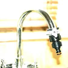 kitchen sink to garden hose adapter garden hose to sink adapter connect hose to sink fashionable
