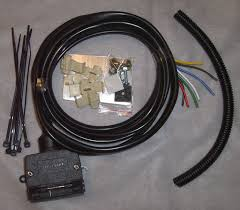 dtec wiring harness 7 pin jk 2 4dr 2007