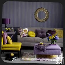 Purple And Gray Living Room Room Reveal Purple And Grey Living Room Sophie Robinson Purple And