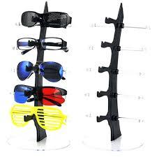 new 5 layers eyeglasses sunglasses glasses display stand rack holder shelf diy sunglass