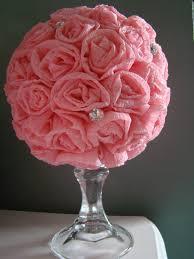 Make Tissue Paper Flower Balls 020 Diane2527s40thandhiking543 Jpg Flower Designs Paper Ball