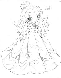 Anime Chibi Coloring Pages Anime Coloring Pages For Girls Free Cute