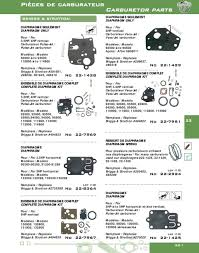 pièces de carburateur carburetor parts pdf diaphragm kit 3