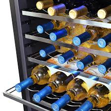 newair 28 bottle wine cooler.  Newair NewAir AW281E Classic 28 Bottle Thermoelectric Wine Cooler  Stainless  Steel Throughout Newair R