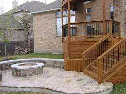 wooden decks and patios