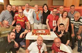 Roma Club in festa con l'ex difensore Ubaldo Righetti