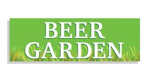 garden banners. Beer Garden Banner - Custom Text Banners