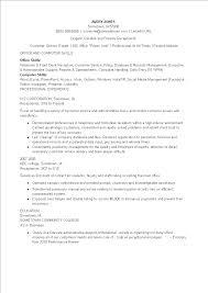 Free Receptionist Skill Resume Templates At Allbusinesstemplates Com