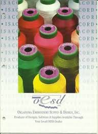 Details About Isacord Embroidery Thread Color And Conversion Chart Free First Class Shipping