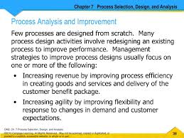 Management Strategies To Improve Process Designs Of Services Focus On Ppt Process Selection Design And Analysis Powerpoint
