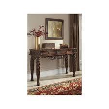 t963 4 ashley furniture north s dark brown living room sofa table