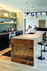 Table Ilot Cuisine Table Haute Ilot Central Table Bar Cuisine Design ...