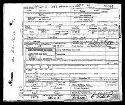 the men and women in world war ii from navarro county death certificate