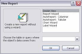 Microsoft Access 2003 Free Tutorial Unit 12 Reports In
