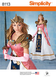 Costume Sewing Patterns Awesome Simplicity 48 Misses' Costume With Craft Foam Armor Belt Crown