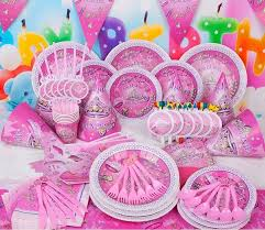 84pcs <b>Princess</b> girl Kids <b>Birthday Decoration</b> Set <b>Princess Theme</b> ...
