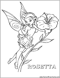Small Picture Disney Fairy Rosetta Coloring Page disney fairies Fairy