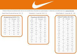 Scientific Nike Toddler Boy Shoe Size Chart Nike Toddler Boy