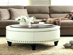 ottoman used as coffee table special round coffee table ottoman ottoman coffee table tray uk