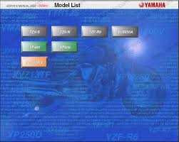 service and repair manuals yamaha electrical wiring diagrams yamaha moto atv repair manuals 1997 2004