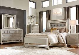 Shop For A Sofia Vergara Paris 5 Pc Queen Bedroom At Rooms To Go within  Rooms