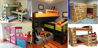 Triple Bunk Bed Design Ideas