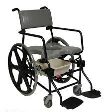 rehab shower commode chair 24 wheels