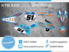 2018 ktm 85 graphics. delighful graphics ktm sx85 full graphics kit 20032012 20132017 2018 sx 85 and ktm graphics