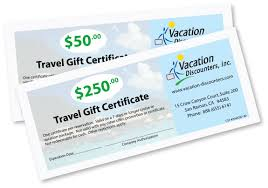 Cruise Gift Certificate Template A Gift Of Travel Travel Voucher Gift Certificate Template