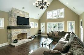 stone fireplace wall with tv stone fireplace tv wall mount