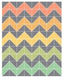 easiest ever chevron quilt (no triangles!) I LOVE this pattern ... & Free Chevron Quilt Pattern | ... free time to get this started. Here Adamdwight.com