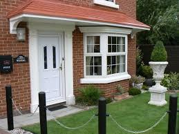 Front Door Canopy With Pillars : Front Door Canopy Ideas – The ...
