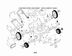 Craftsman riding lawn mower parts diagram best of briggs and
