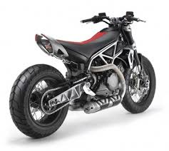 weird stuff aprilia mana x is it a dirt tracker supermoto bike